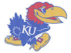 Kansas Jayhawks 8inch Perf Decal Bumper Stickers & Decals