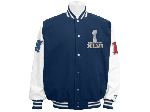 Super Bowl XLVI GIII NFL Super Bowl XLVI Canvas Jacket