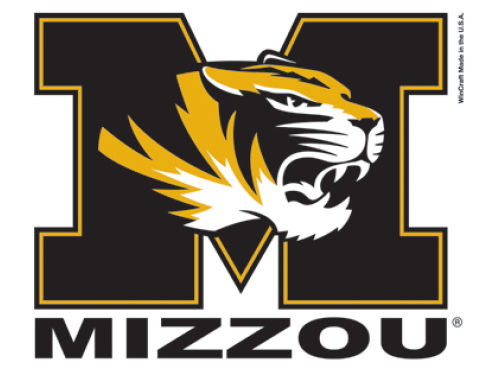 Missouri Tigers Wincraft 3x4 Ultra Decal