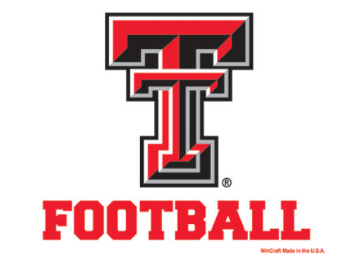 Texas Tech Red Raiders Wincraft 3x4 Ultra Decal