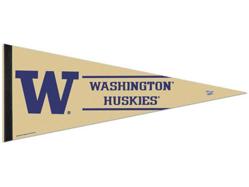 Washington Huskies Wincraft 12x30 Premium Pennant