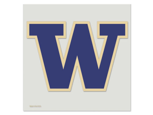Washington Huskies Wincraft 8x8 Die Cut Full Color Decal
