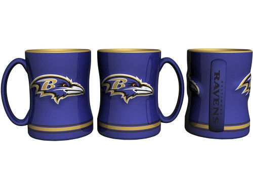 Baltimore Ravens Boelter Brands 14 oz Relief Mug