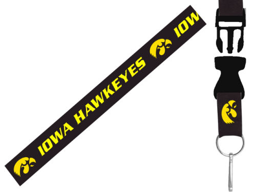 Iowa Hawkeyes Aminco Inc. Lanyard