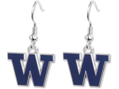 Washington Huskies Aminco Inc. Logo Earrings