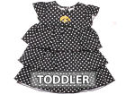 Iowa Hawkeyes NCAA Natasha Toddler Dress Outfits