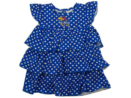 Kansas Jayhawks NCAA Natasha Toddler Dress