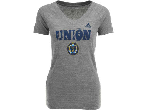 Philadelphia Union MLS Womens Universal Roughed Up T-Shirt
