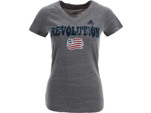 New England Revolution MLS Womens Universal Roughed Up T-Shirt