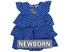 Kansas Jayhawks NCAA Natasha Newborn Dress Infant Apparel