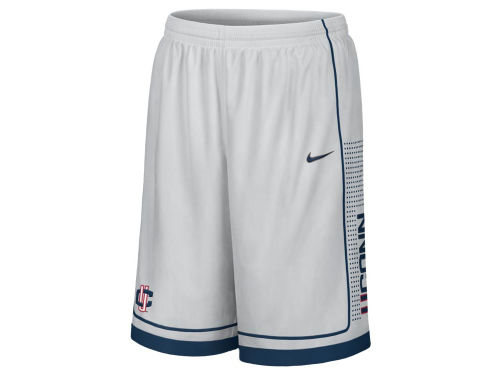Connecticut Huskies Nike NCAA Basketball Woven Short 11