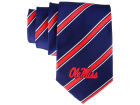 Mississippi Rebels Eagles Wings Necktie Woven Poly 1 Apparel & Accessories
