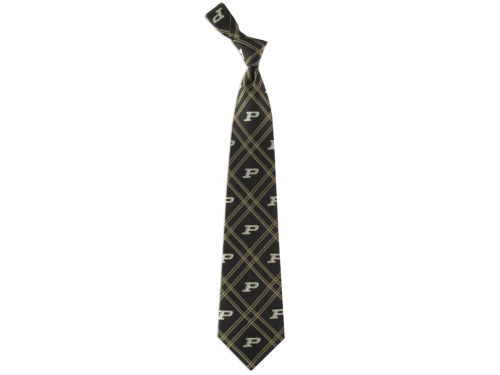 Purdue Boilermakers Eagles Wings Necktie Woven Poly 2