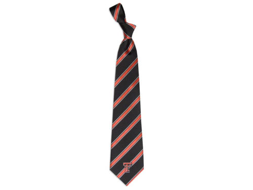 Texas Tech Red Raiders Eagles Wings Necktie Woven Poly 1