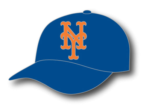 New York Mets MLB Hat Pin Aminco