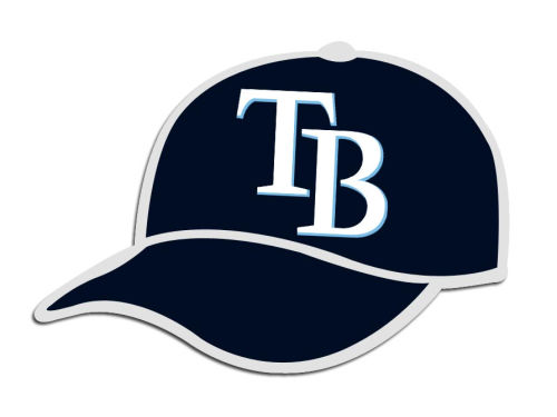 Tampa Bay Rays MLB Hat Pin Aminco
