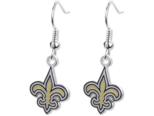 New Orleans Saints Aminco Inc. Logo Earrings