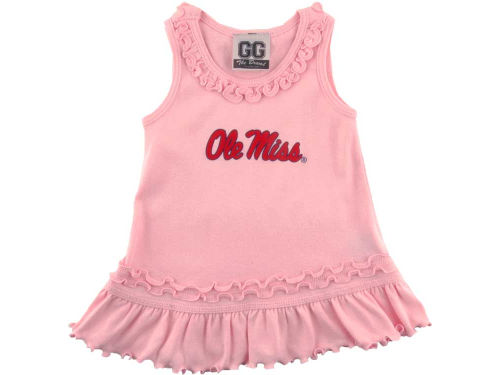 Mississippi Rebels NCAA Infant Ruffle Tank Dress