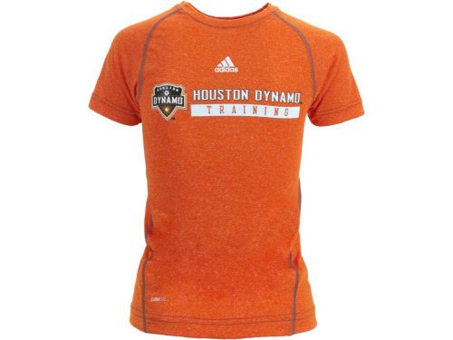 Houston Dynamo Outerstuff MLS Youth Heathered Speedwick T-Shirt
