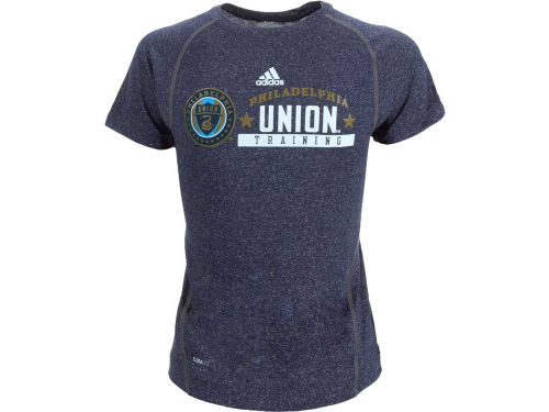 Philadelphia Union Outerstuff MLS Youth Heathered Speedwick T-Shirt