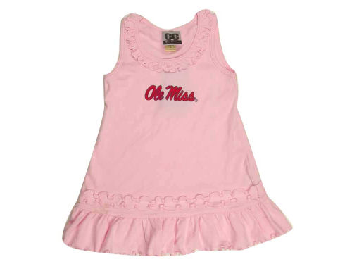 Mississippi Rebels NCAA Toddle Ruffle Tank Dress