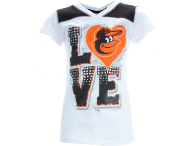 Baltimore Orioles MLB Girls Baby Jersey Vneck
