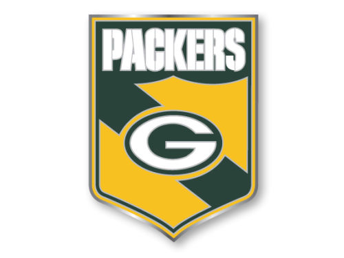 Green Bay Packers Team Crest Pin Aminco