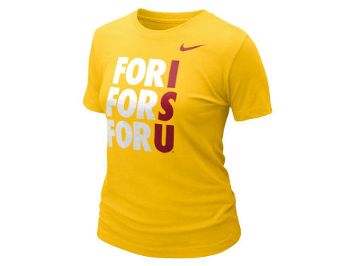 Iowa State Cyclones Nike NCAA Womens College Local T-Shirt