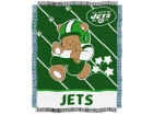 New York Jets NFL 36x46 Woven Jacquard Baby Throw Bed & Bath