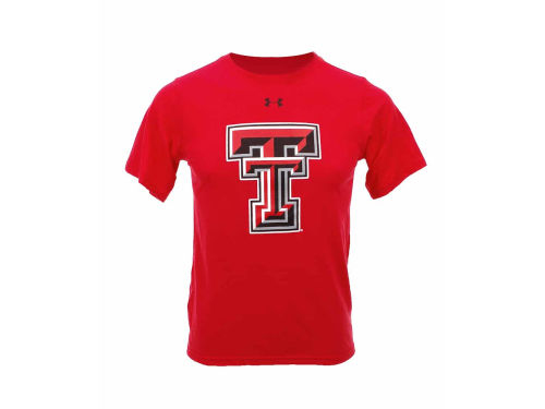 Texas Tech Red Raiders Under Armour NCAA Youth Distressed Logo Gamechanger T-Shirt