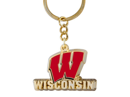 Wisconsin Badgers Heavyweight Keychain