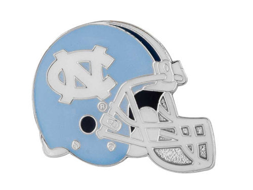 North Carolina Tar Heels Helmet Pin
