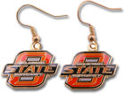 Oklahoma State Cowboys Logo Earrings Apparel & Accessories