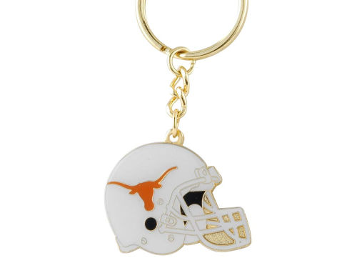 Texas Longhorns Metal Helmet Key Ring