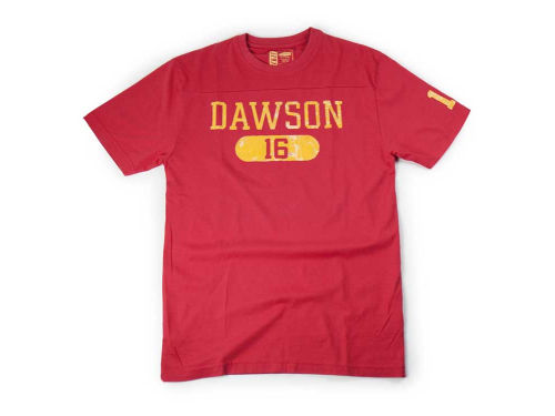 Kansas City Chiefs Len Dawson NFL Over Under T-Shirt