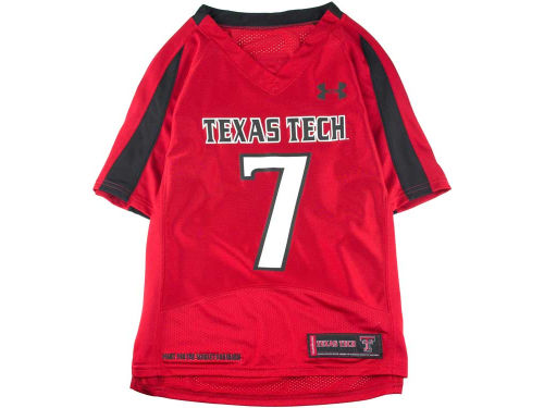 Texas Tech Red Raiders Under Armour NCAA UA Youth Replica Football Jersey