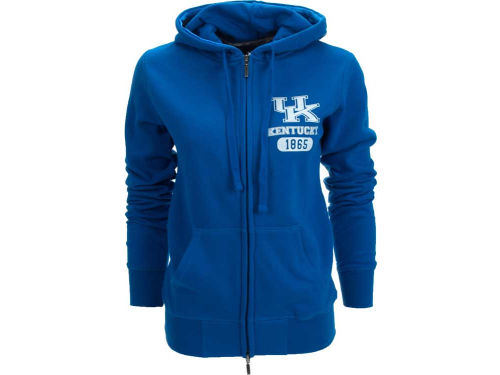 Kentucky Wildcats NCAA Womens Playdate Troublemaker Zip Hoody