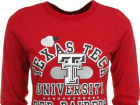 Texas Tech Red Raiders NCAA Womens Shout Out Lucy Long Sleeve T-Shirt T-Shirts