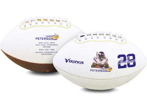 Minnesota Vikings Adrian Peterson Playmaker High-Gloss Football