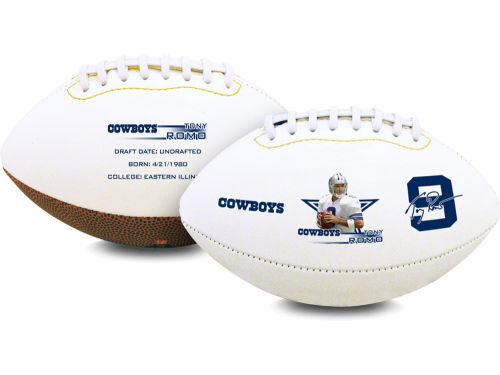 Dallas Cowboys Tony Romo Playmaker High-Gloss Football