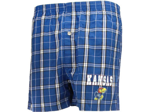 Kansas Jayhawks College Concepts NCAA Mens Elite Boxer