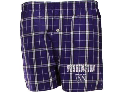 Washington Huskies College Concepts NCAA Mens Elite Boxer
