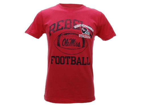 Mississippi Rebels Blue 84 NCAA Intensity Dyed T-Shirt