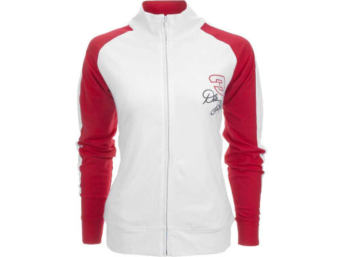 Dale Earnhardt College Concepts Womens Milestone Track Jacket