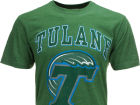Tulane Green Wave NCAA Heathered Big Arch N Logo T-Shirt T-Shirts