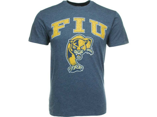Florida International Golden Panthers NCAA Heathered Big Arch N Logo T-Shirt
