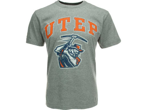 UTEP Miners NCAA Heathered Big Arch N Logo T-Shirt