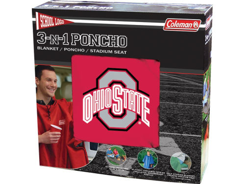 Ohio State Buckeyes 3-in-1 Poncho