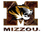 Missouri Tigers Collegiate Camo Medium Decal Auto Accessories