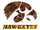 Iowa Hawkeyes Collegiate Camo Medium Decal Auto Accessories